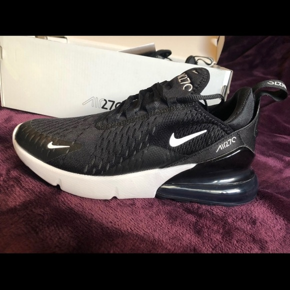 best cheap ed0ce f3693 Black and white Air Max 270s